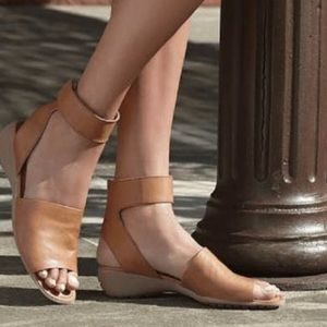 e559aa1b775 THE FLEXX Shoes - Beglad Leather Ankle Strap Sandal by The Flexx